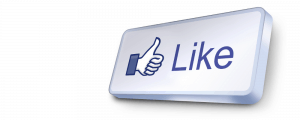image of a facebook like button