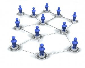 image of connections on LInkedIn