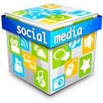 image of a cube for Social Media