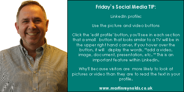 image of a social media tip by Martin Reynolds