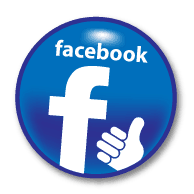 image of a Facebook like icon