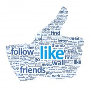 image of a Facebook thumbs up from Martin Reynolds social media consultant`s blog post