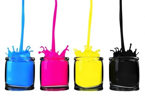 image of ink pots from Martin Reynolds, Social Media Consultants blog post
