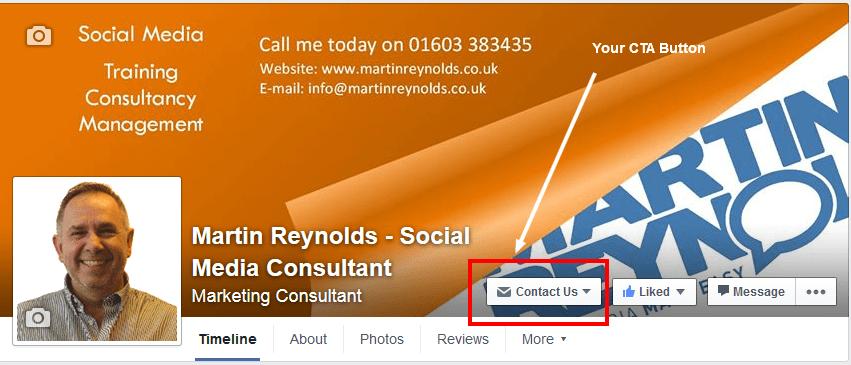 image of Facebook CTA button
