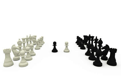 chess pieces relating to facebook tactics